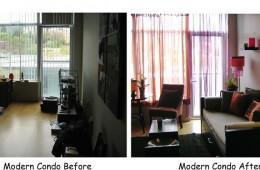 Redesign:  Modern Condo